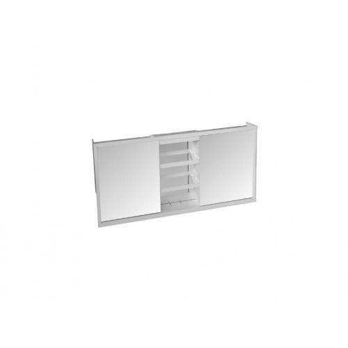skříňka koupelnová 3díl. TZS-3, 73x36,5x10cm, zrc.BÍ