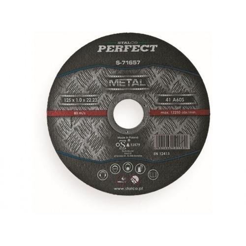 kotouč řez. na ocel 125x1,0x22,23mm STALCO