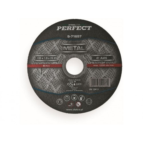 kotouč řez. na ocel 125x1,6x22,23mm STALCO