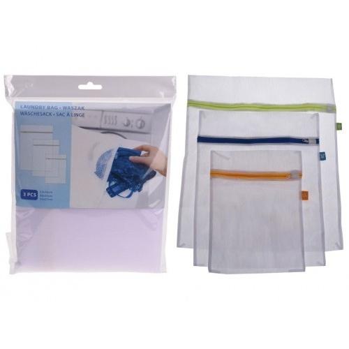 sáček na praní se zipem sada 3díl. (velikost S,M,L)