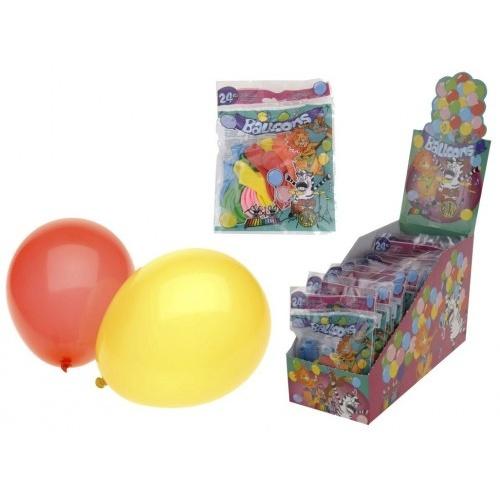 balónky PÁRTY mix barev (24ks)