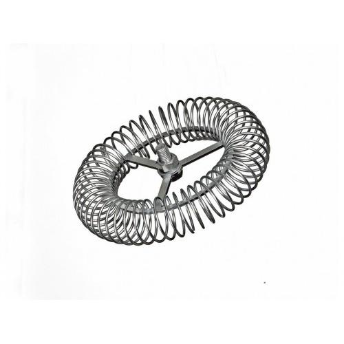 růžice komínová kruhová 180mm/M12, ocel