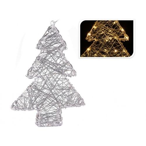 osvětlení vánoční STROM  30cm 20LED