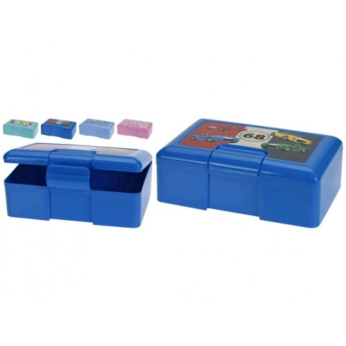 box svačinový 18/20x13x7cm s klick.uz. PH mix barev, mix druhů