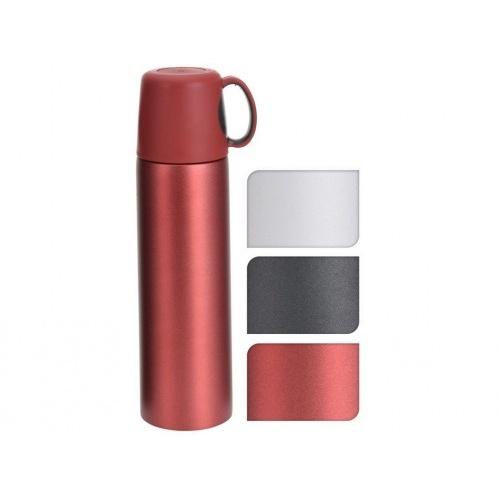 termoska 0,5l nerez, PH víčko s uchem, mix barev