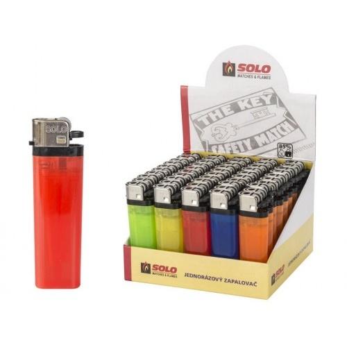 zapalovač jednorázový kamínkový SOLO (50ks)