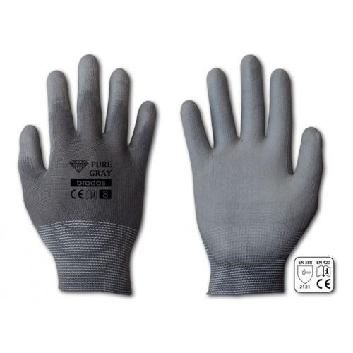 rukavice PURE GRAY PU 10