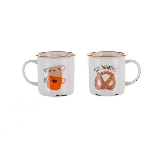 hrnek 310ml COFFE ICONS Coffee Time, keramický