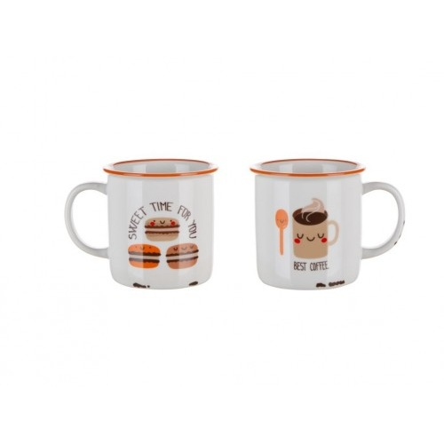 hrnek 310ml COFFE ICONS Best Coffee, keramický
