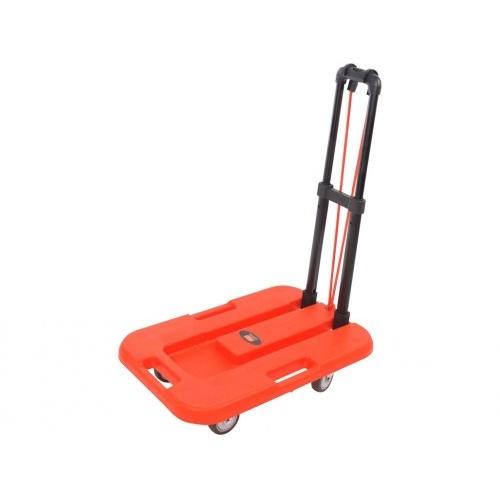 vozík plošinový skládací 560x1035x380mm PP+kov, nosnost 100kg