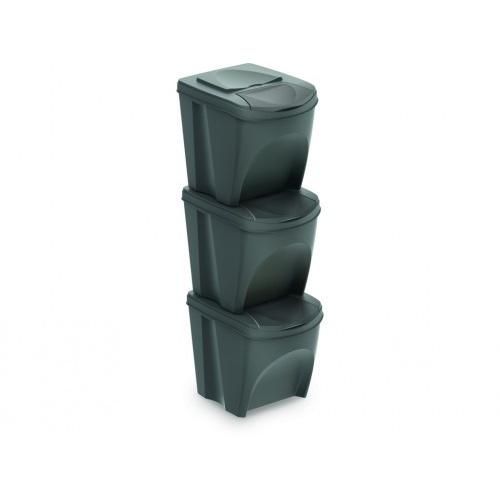 koš na tříděny odpad 3x25l PH ŠE