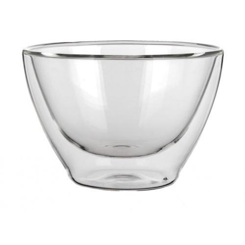 miska 370ml dvoustěnné sklo