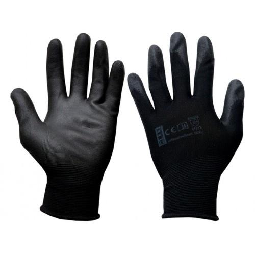 rukavice PURE BLACK PU  9