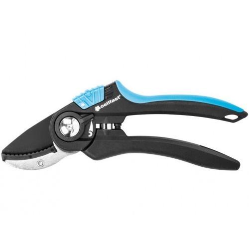 nůžky zahradní kovadlinkové ERGO 20cm, pr.střihu 18mm  CELLFAST