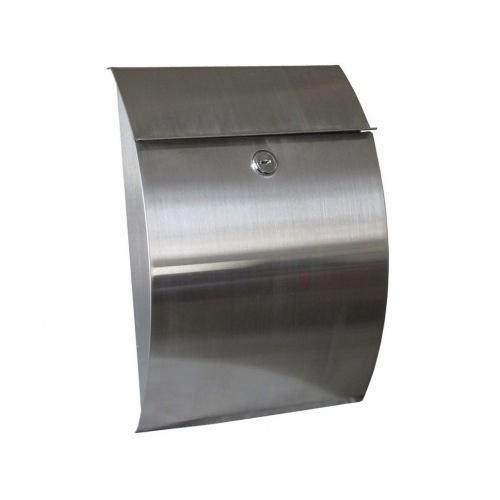schránka poštovní 215x300x70mm nerez