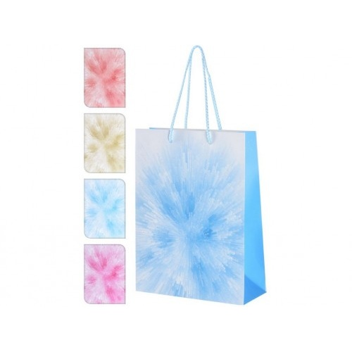 taška dárková 24x18x5cm (M) mix barev