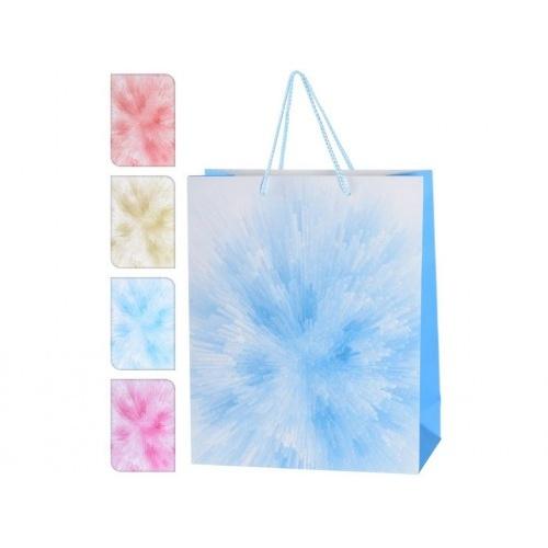 taška dárková 32x26x10cm (L) mix barev