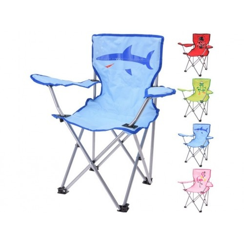 židle skládací 36x36x64cm dětská, mix dekorů, nosnost 50kg