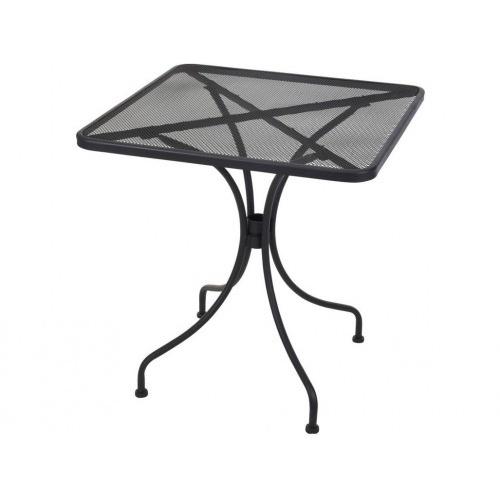 stůl zahradní 70x70x71cm železo ANTRACIT