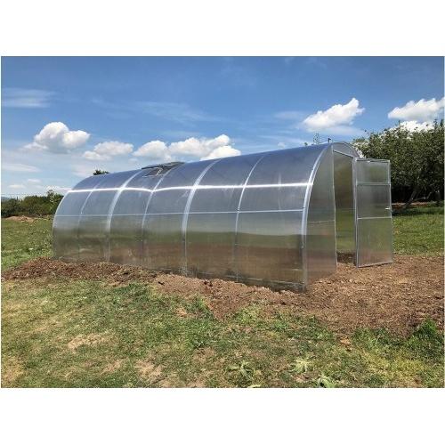skleník zahradní GENIO 6x3 m oblouk, polykarbonát