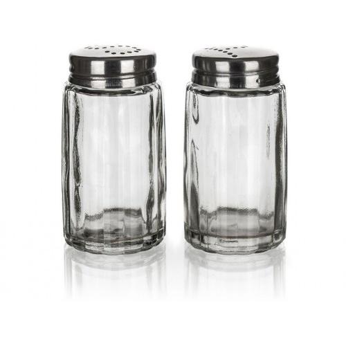 slánka a pepřenka MONO 40ml sklo/nerez (2ks)