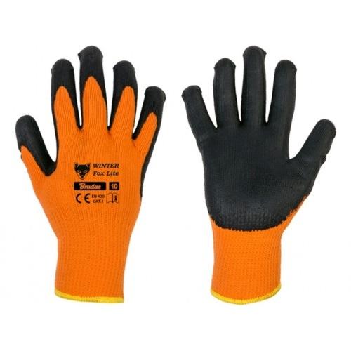 rukavice WINTER FOX LITE 10 latex