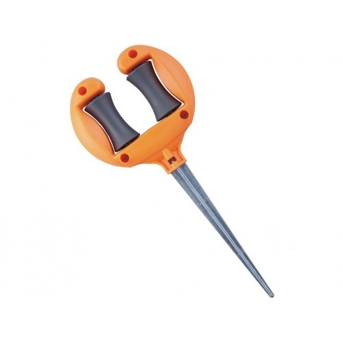 vodítko na hadici s kovovým hrotem