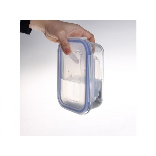 dóza obdél. 0,64l 17,7x13,4x6,4cm skl.+PP víčko