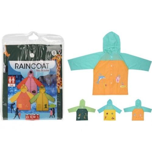 pláštěnka pro děti PVC s potiskem mix velikostí, mix barev