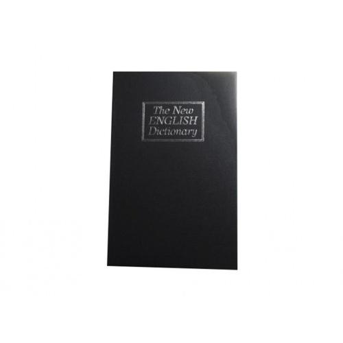 trezor kniha 180x115x55mm ČER