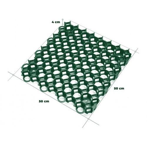 dlaždice trávníková 50x50x4cm PH ZE (10ks)