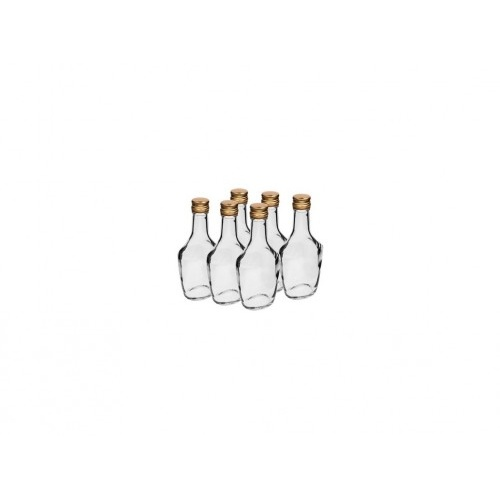 láhev 250ml BOSSMANN skl.s uzávěrem (6ks)