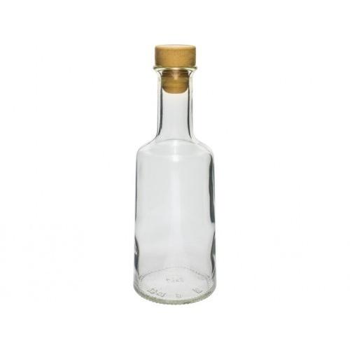 láhev 250ml ROSA skleněná se zátkou