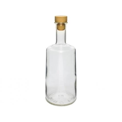 láhev 500ml ROSA skleněná se zátkou