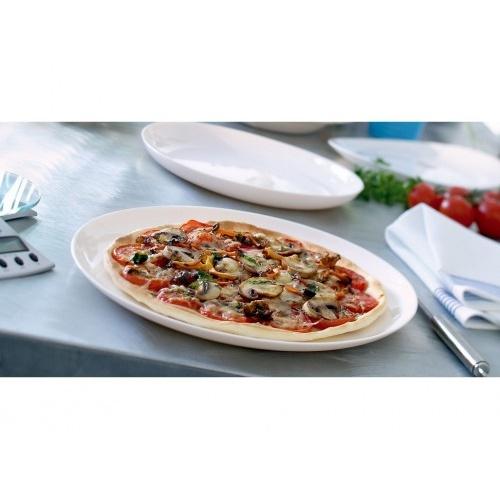 talíř na pizzu 32cm FRIEND`S TIME skleněný BÍ
