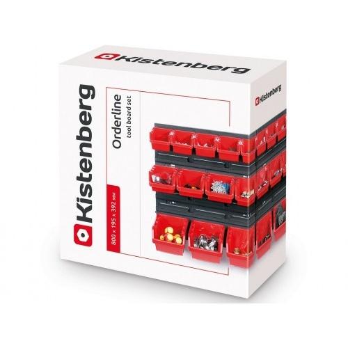 systém závěsný+28 boxů na nářadí ORDERLINE 800x165x400mm