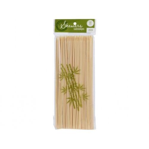 špejle bambus 20cmx3mm (100ks)