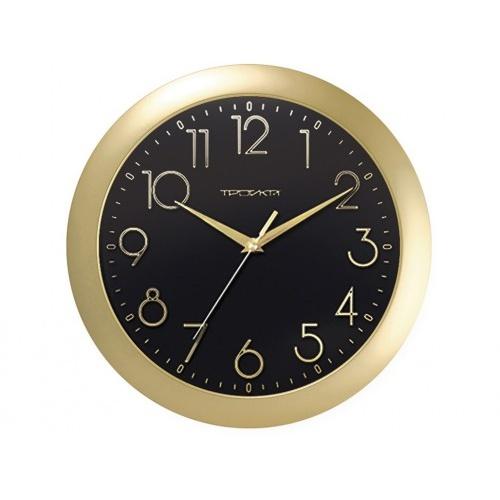 hodiny nástěnné pr.29cm PH ZLA, minerální sklo  TROYKA