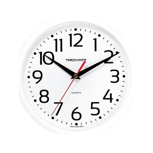 hodiny nástěnné pr.22,5cm PH BÍ, plastové sklo