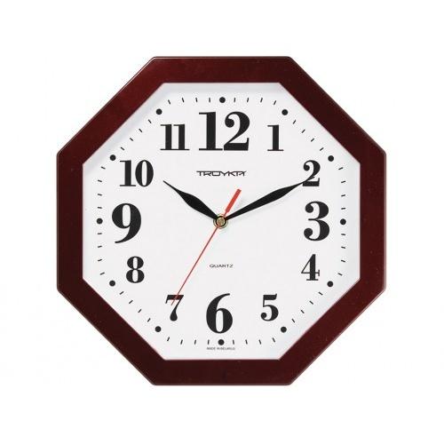 hodiny nástěnné 29x29cm osmihranné PH HN, minerální sklo