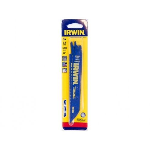 list pil. na kov do mečových pil 150mm/14TPI (5ks) IRWIN