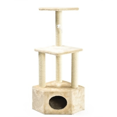 ALDOTRADE Škrabadlo pro kočky Abel 40x40x109 cm