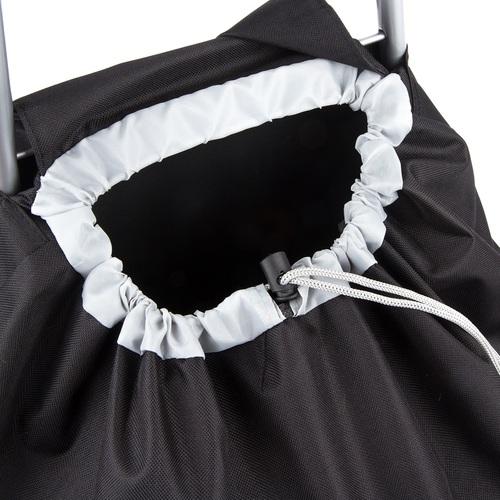 ALDOTRADE nákupní taška na kolečkách CARGO černá