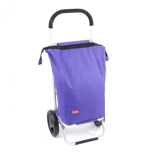 ALDOTRADE nákupní taška na kolečkách NICE fialová