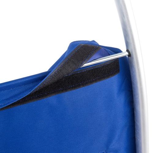 ALDO nákupní taška na kolečkách PARIS termo modrá