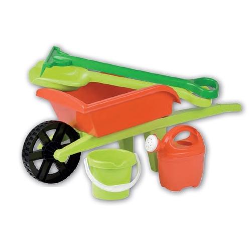 ALDOTRADE Dětské kolečko s nářadím na zahradu