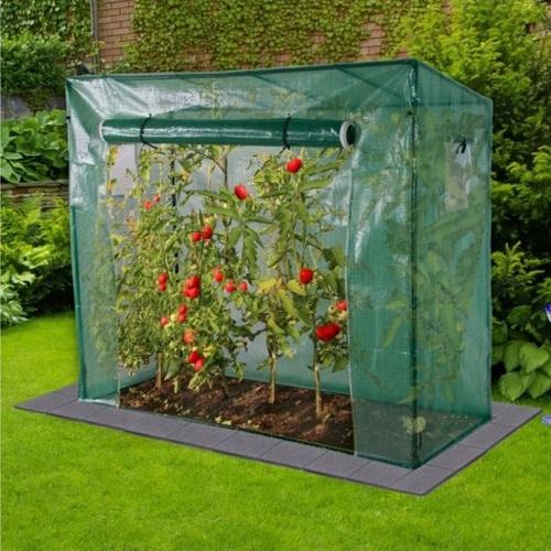 ALDOTRADE fóliovník na rajčata velký 200x168x77 cm