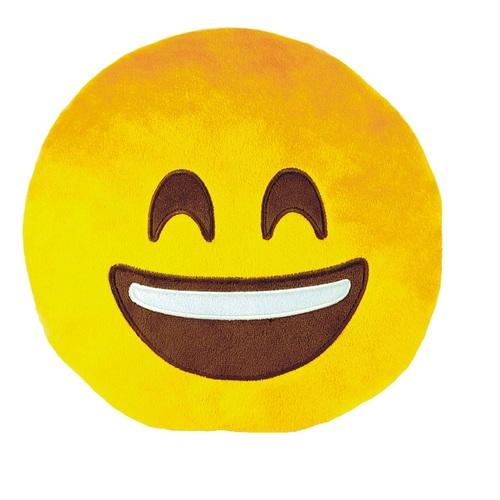 ALDOTRADE Polštář smajlík Emoji HAPPY