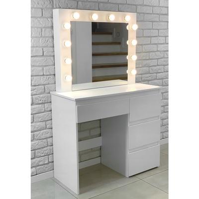 ALDOTRADE Kosmetický stolek Hollywood 90x40x140 cm