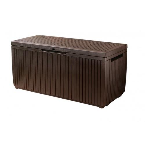 KETER SPRINGWOOD Stogare zahradní úložný box 302l, hnědá 1720237